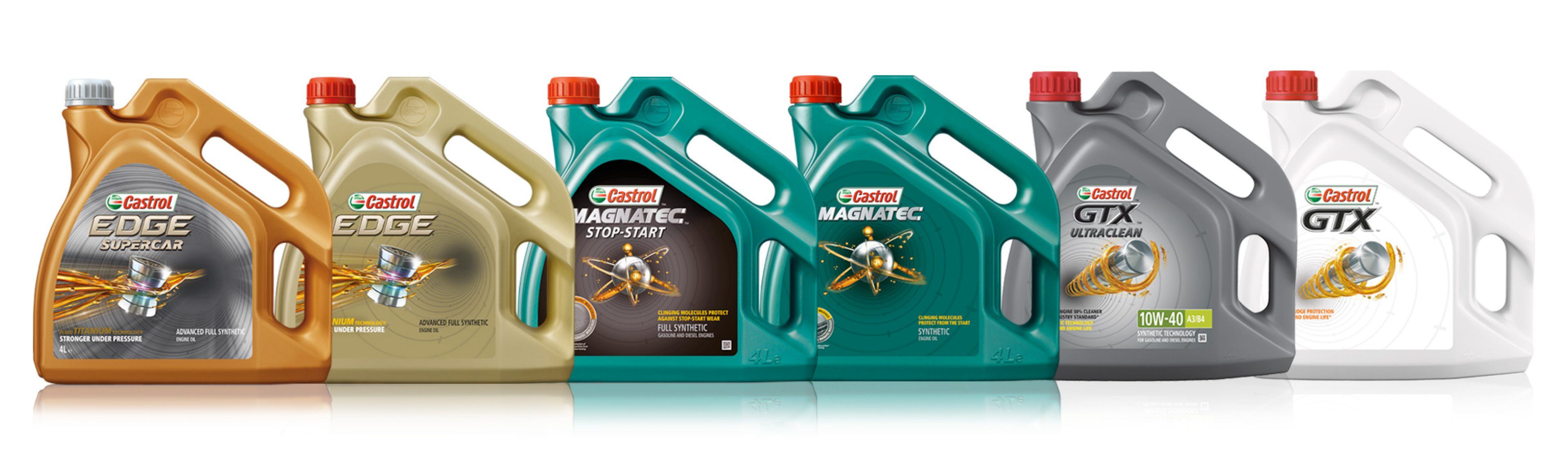Castrol Engine Oil Brands