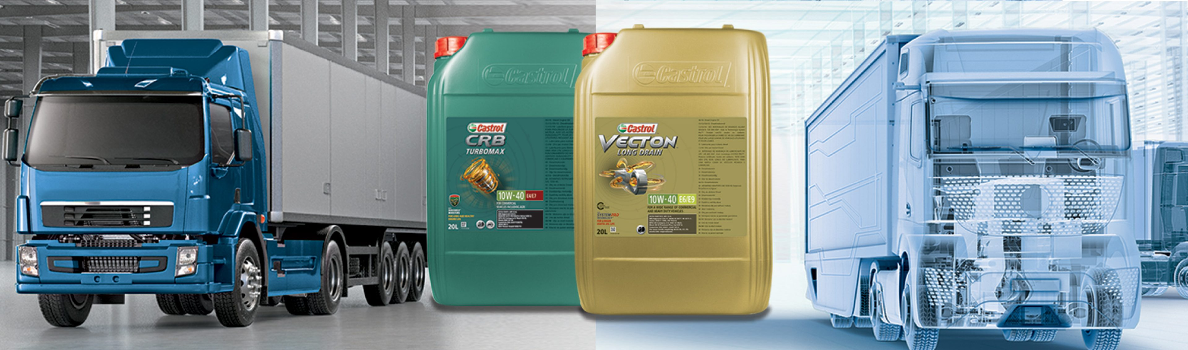 Truck and Bus Engine Oils with 10W-40 Viscosity