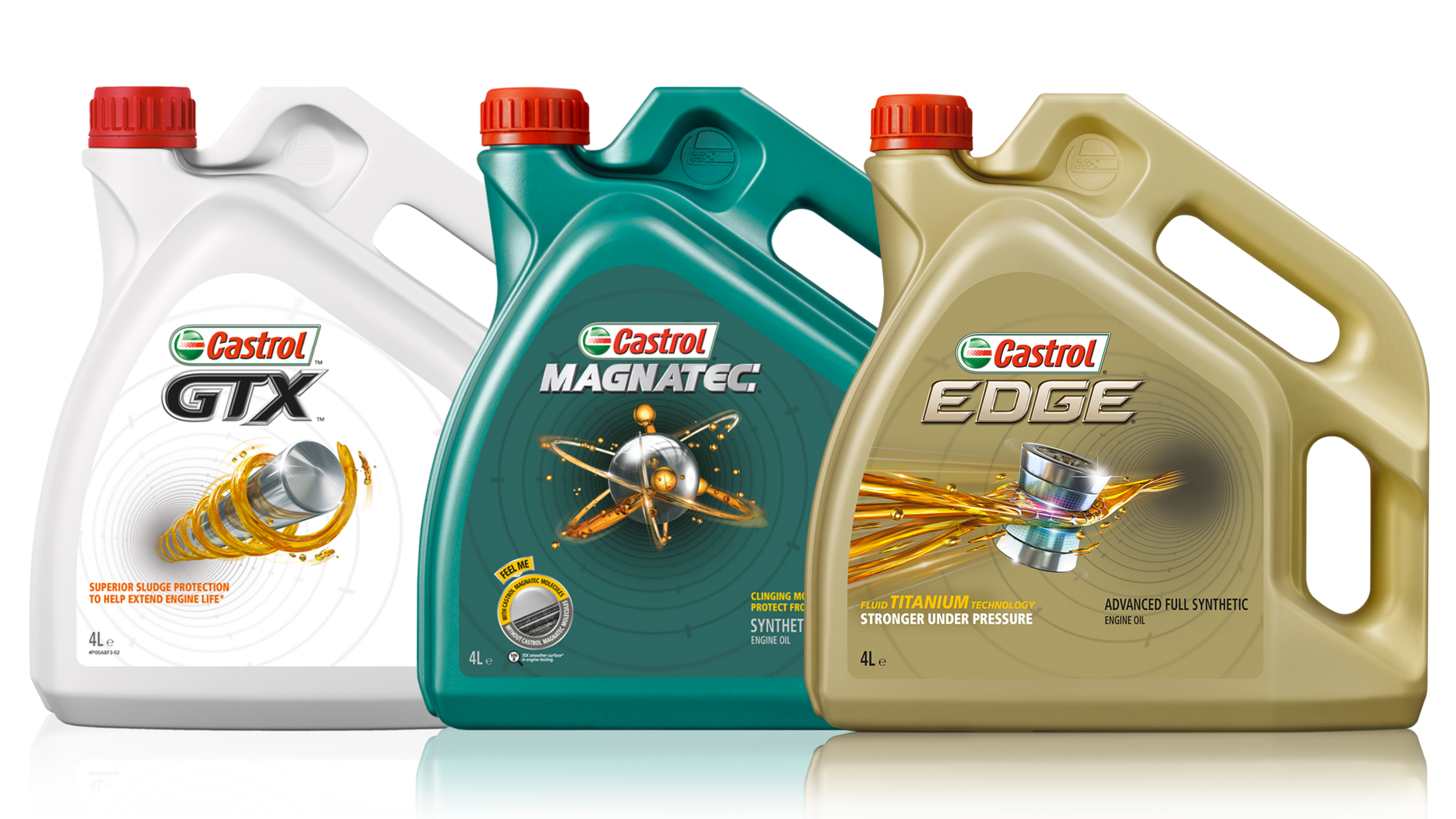 Castrol car engine oils
