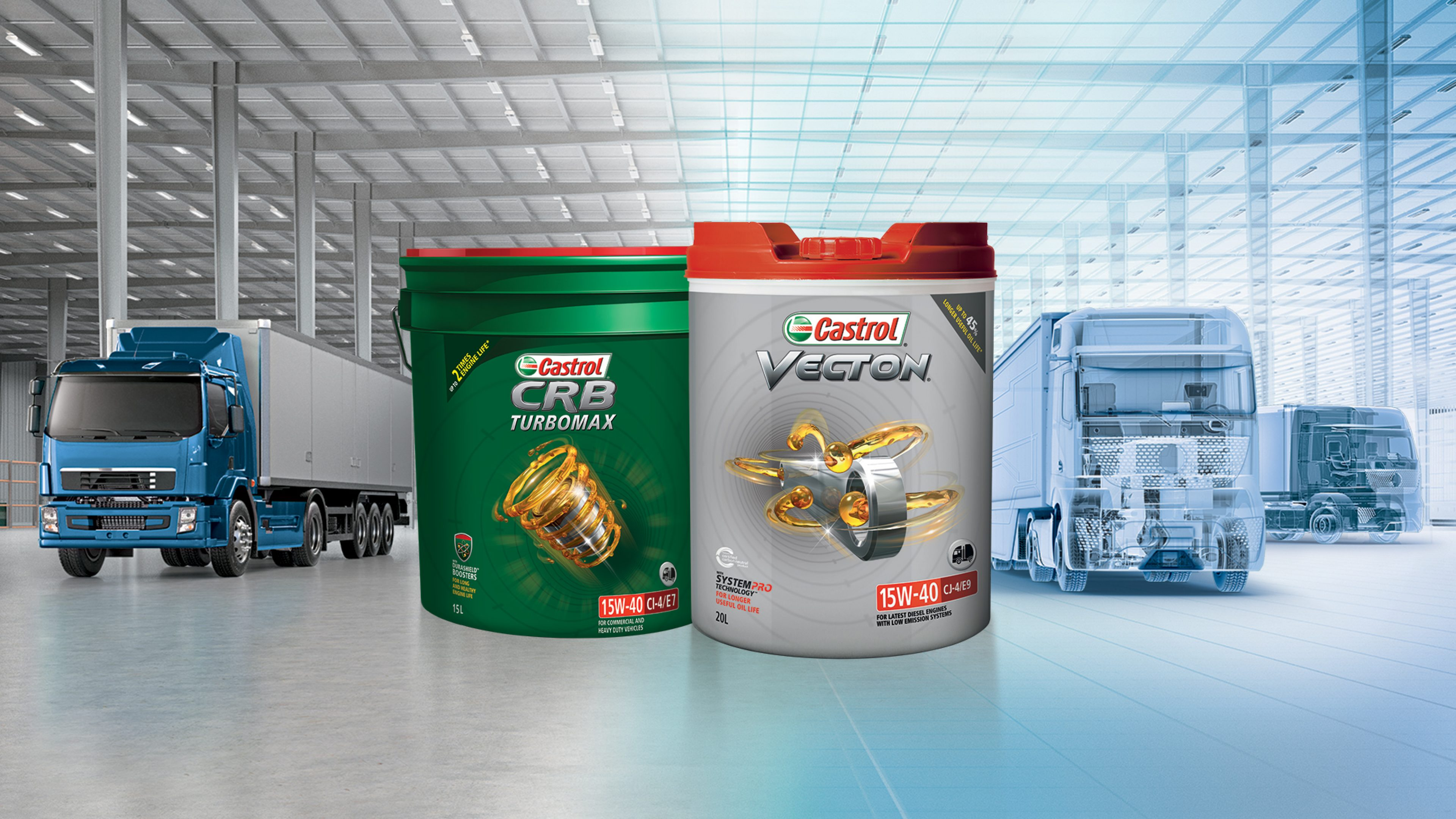 Commercial Vehicle Engine Oils