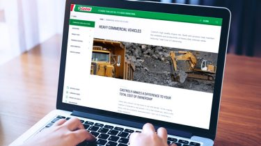 CASTROL® U.S. HEAVY COMMERCIAL VEHICLES WEBSITE REFRESH