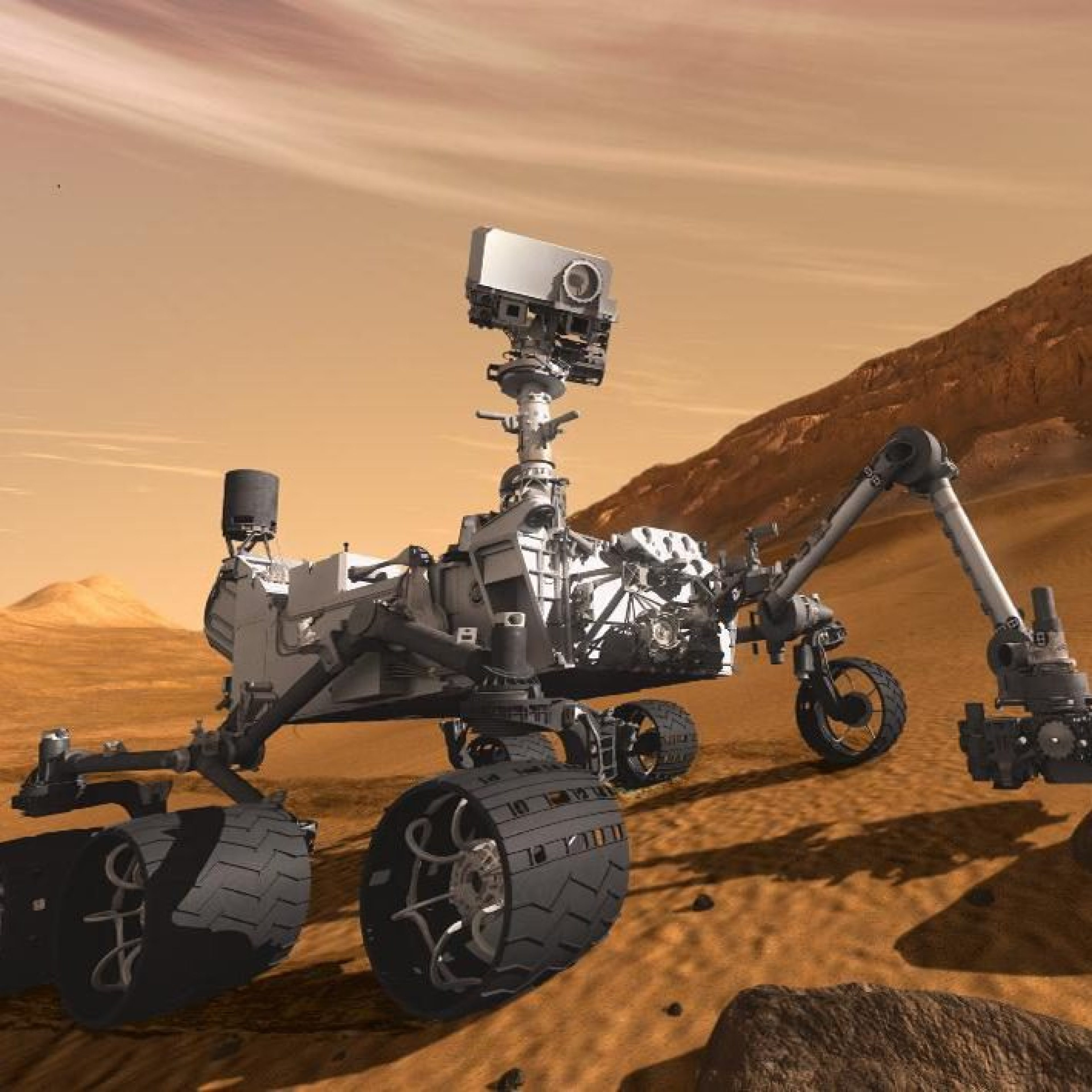 Castrol lubricants for Nasa's Mars programme
