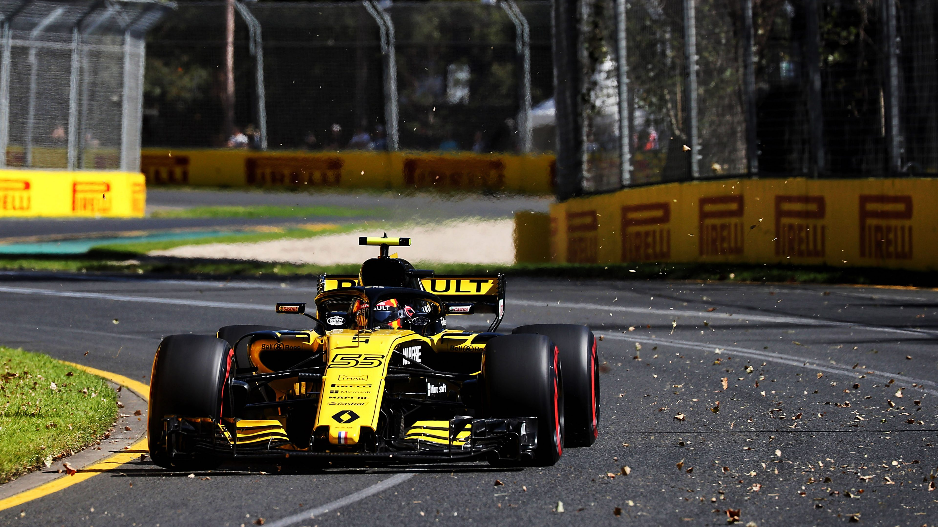 Carlos Sainz Jr (ESP) Renault Sport F1 Team RS18.