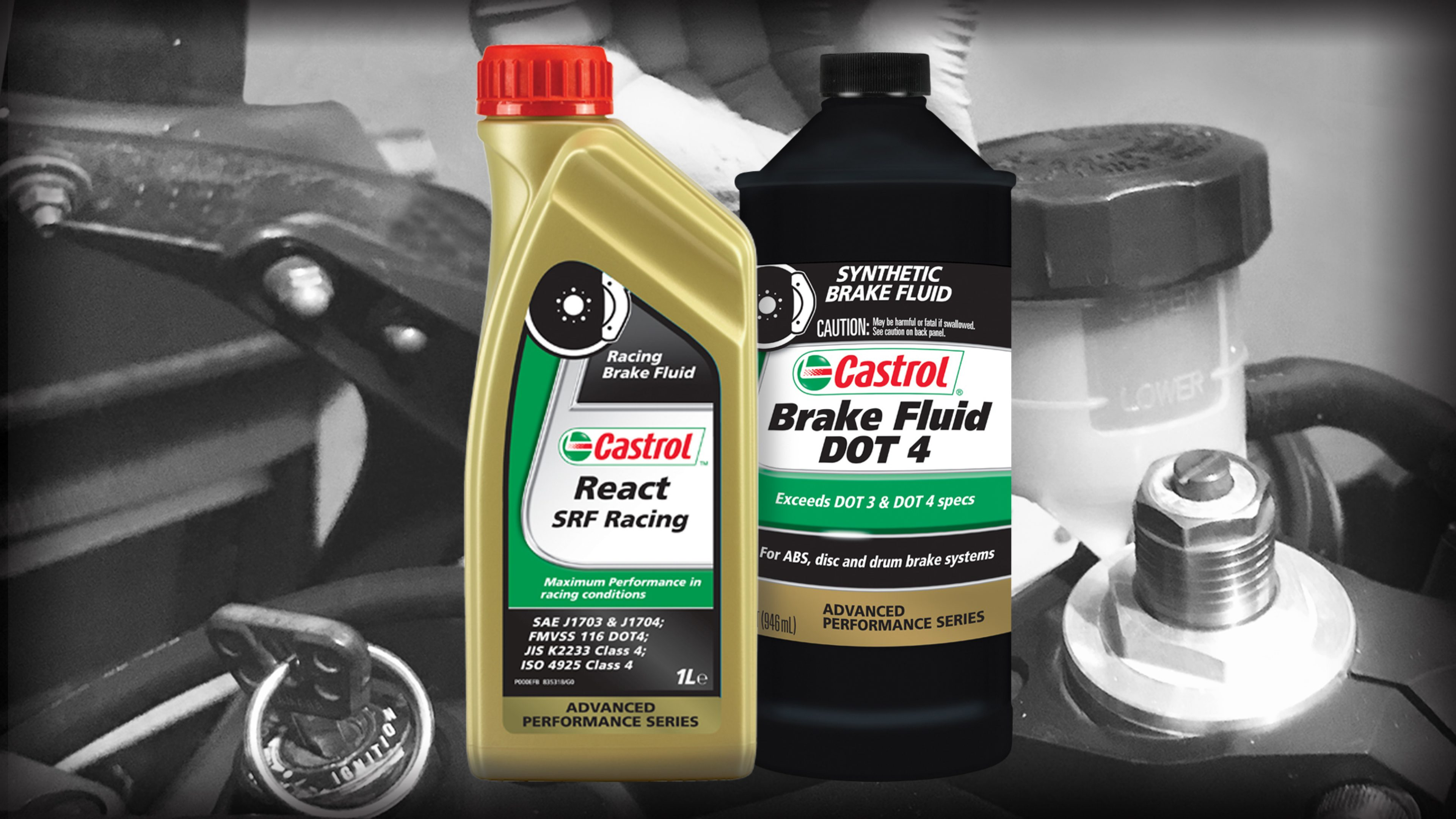Motorcycle brake fluid
