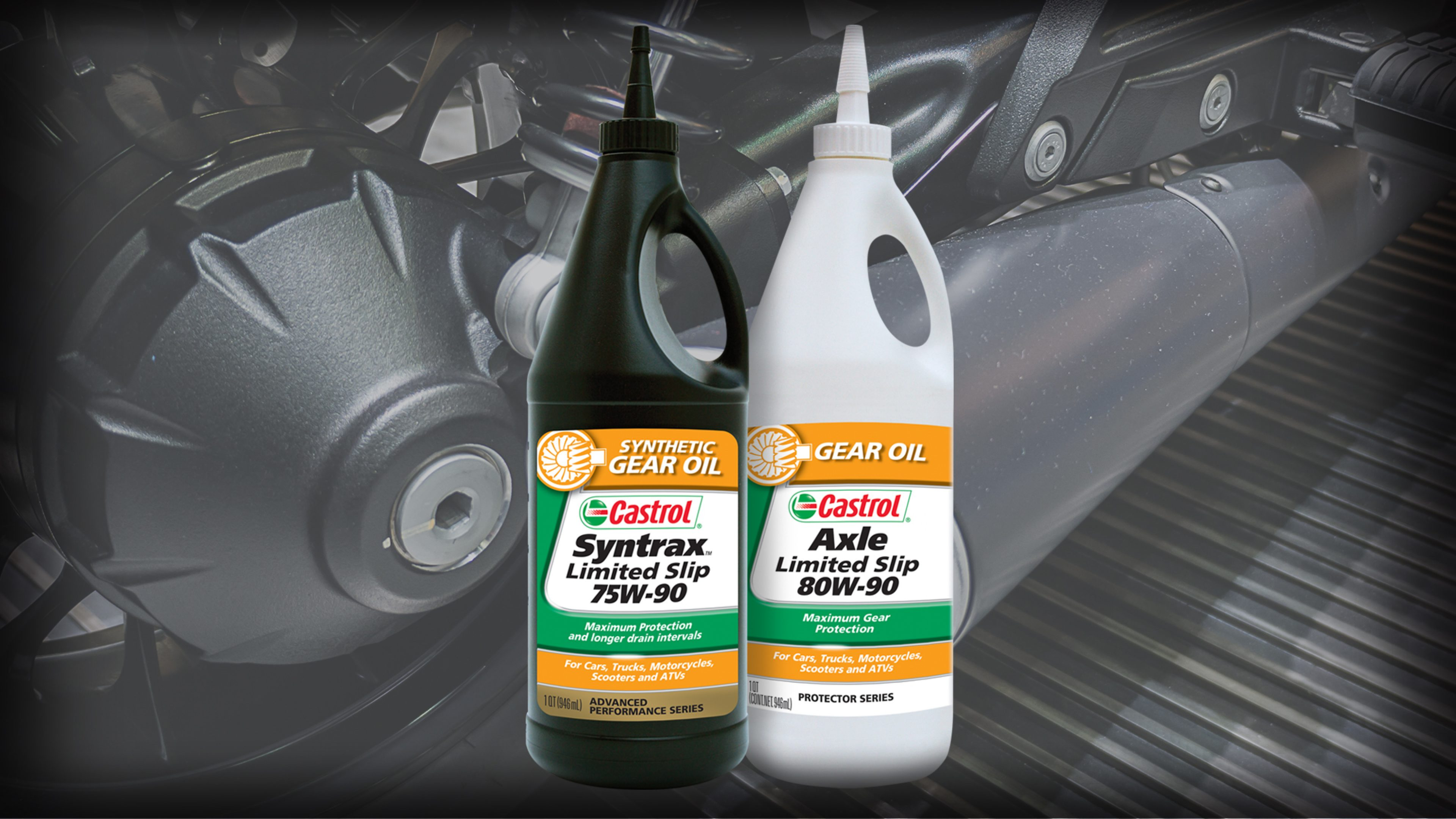Motorcycle gear oil page