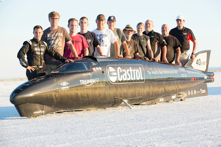 No World Record Attempt For The Castrol Rocket This Time