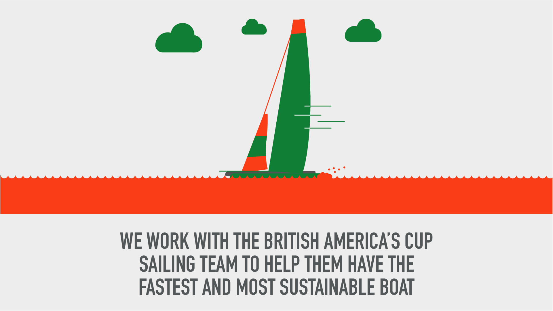We work with the British America's Cup sailing team to help them have the fastest and most sustainable boat.jpg