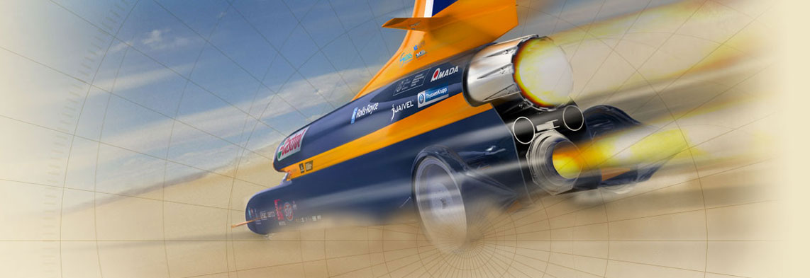 Castrol Joins The Bloodhound Project