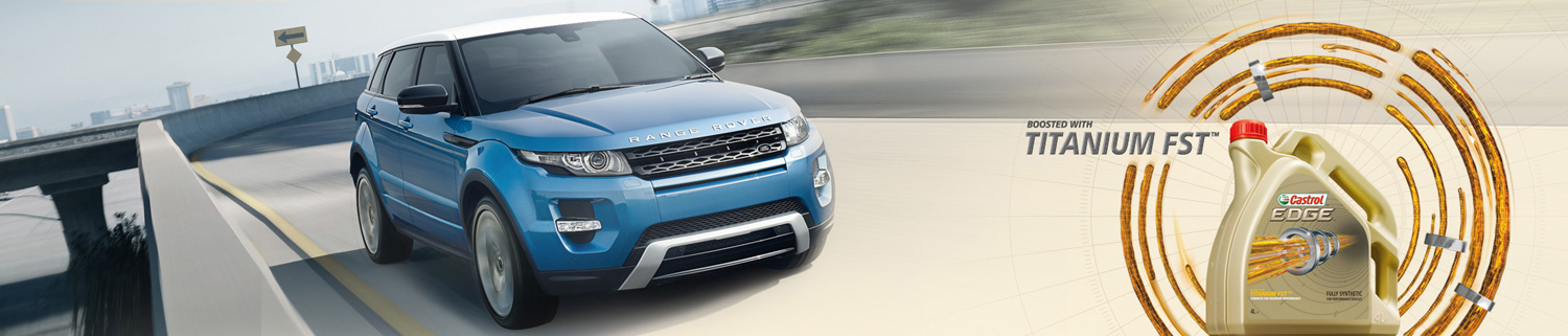 Land Rover  boosted with Titanium FST