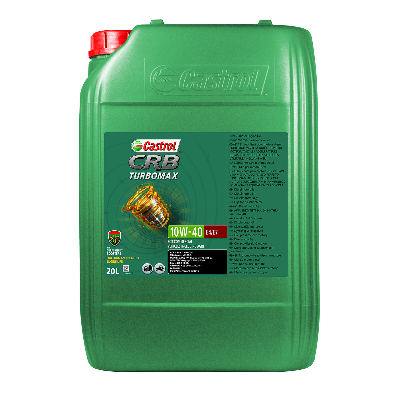 Castrol CRB Turbomax Engine Oils For Trucks And Buses
