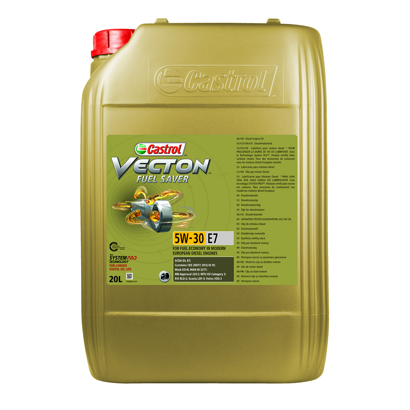 Vecton Fuel Saver 5W-30 E7
