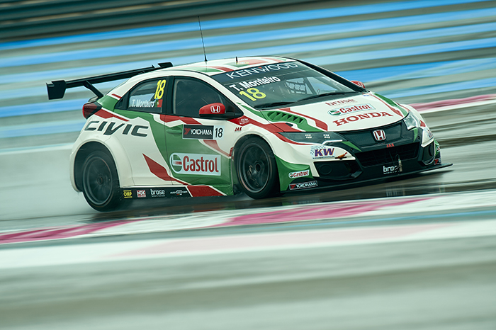 Castrol and Honda Drivers