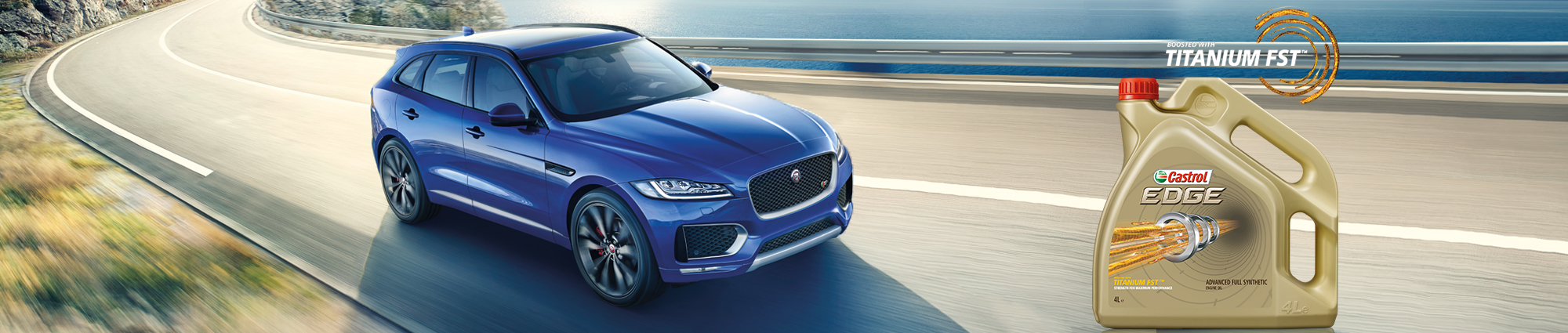 Jaguar Chooses Castrol EDGE