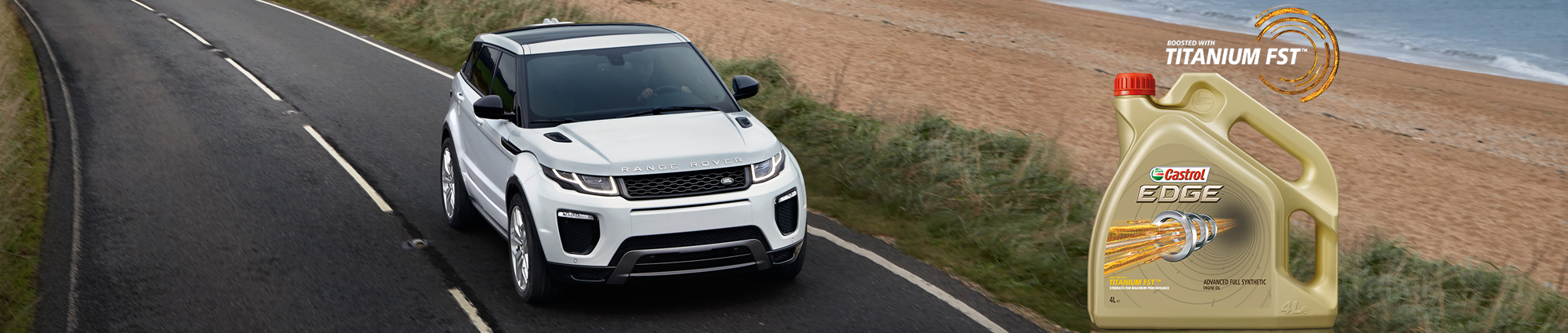 Land Rover a choisi Castrol EDGE
